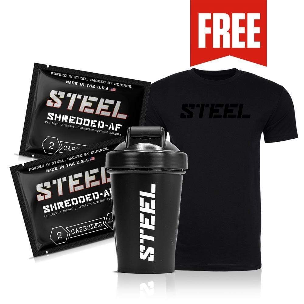Steel Supplements Bundle Small Shredded-AF Bundle