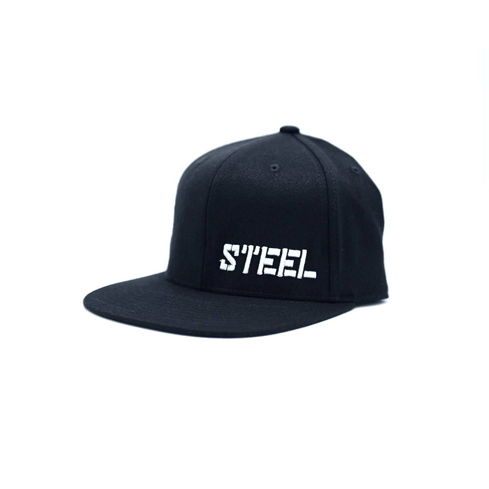 The Steel Supplements Accessories STEEL HAT - SNAPBACK (BLACK)