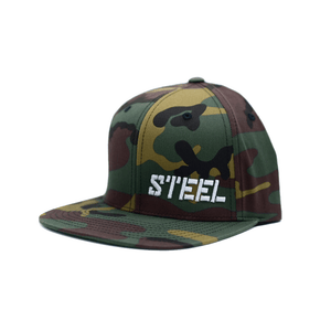 The Steel Supplements Accessories STEEL HAT - SNAPBACK (CAMO)