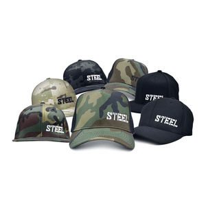 The Steel Supplements Accessories Small/Medium STEEL HATS - FULL COLLECTION