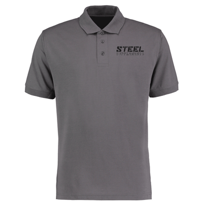 The Steel Supplements Apparel XL / Grey Steel Polo