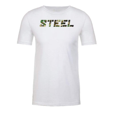Steel Supplements White with Camo STEEL