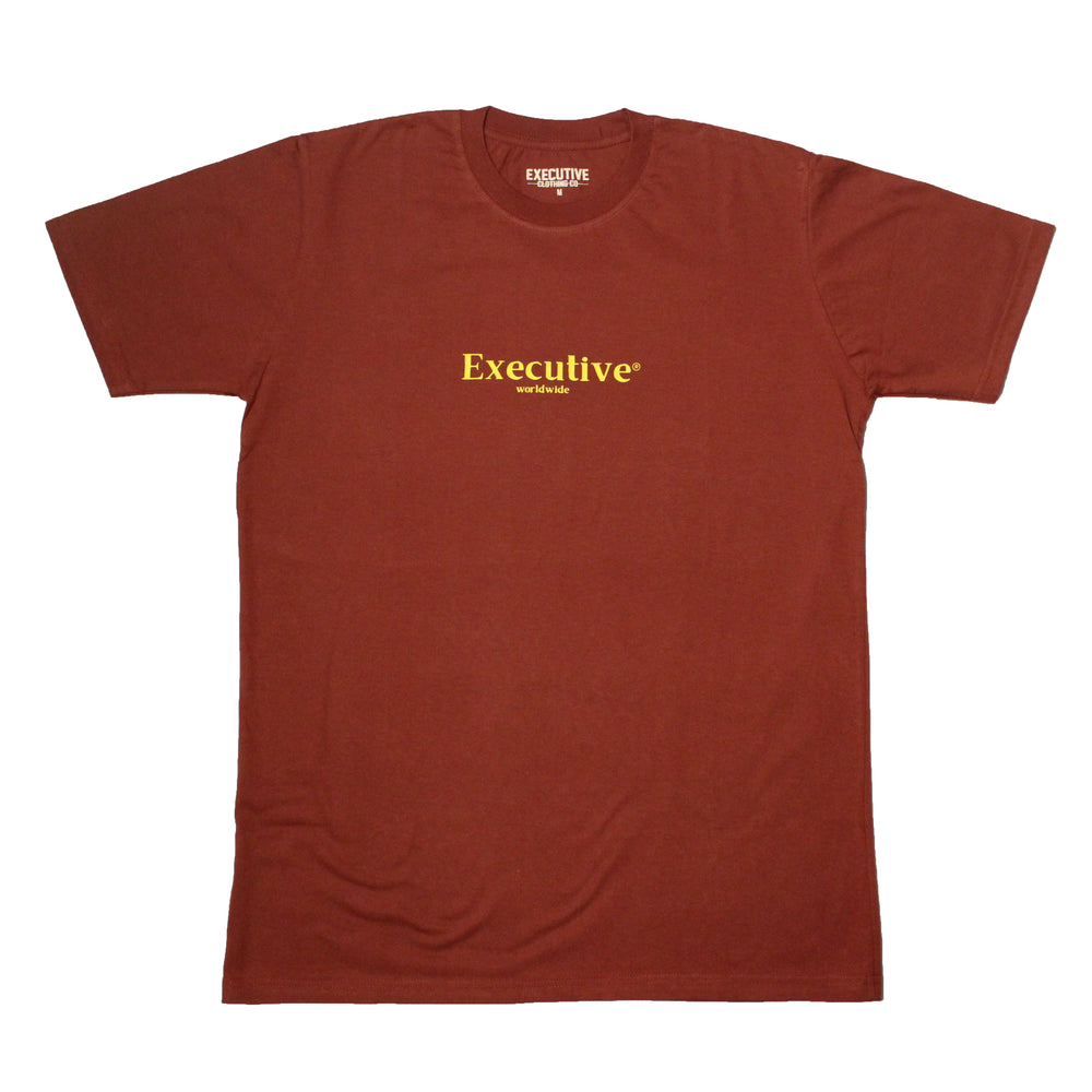 Worldwide Tee - Burgundy