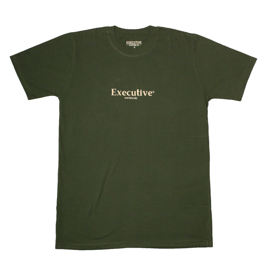 Worldwide Tee - Forest Green
