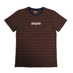 Prime stripe - Brown/Navy