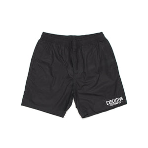 Embroidered Shorts - Black