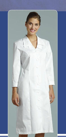 White cross uniform dress 89019