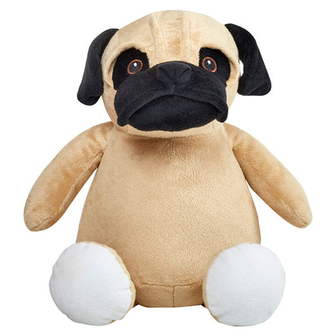 Bull dog plush animal