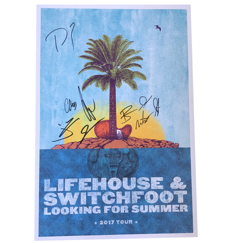 LOOKING FOR SUMMER TOUR POSTER