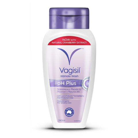 Vagisil Intimate Hygiene Wash Ph Plus 240ml