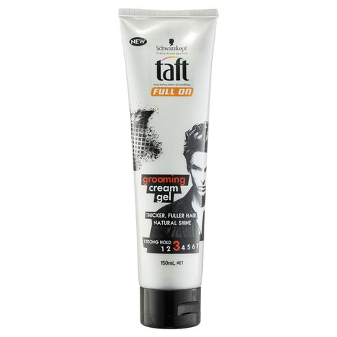 Taft Full On Grooming Cream Gel 150ml