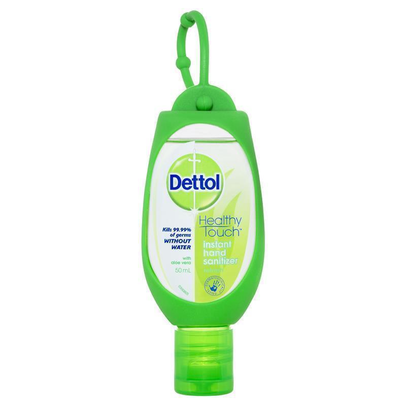 Dettol Instant Hand Sanitiser Refresh Green Clip 50ml Horo Co Nz