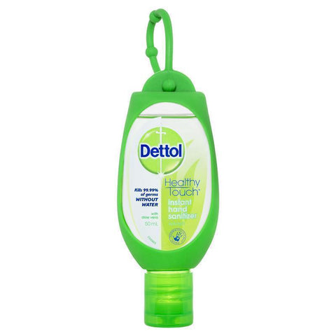 Dettol Instant Hand Sanitiser Refresh Green Clip 50mL