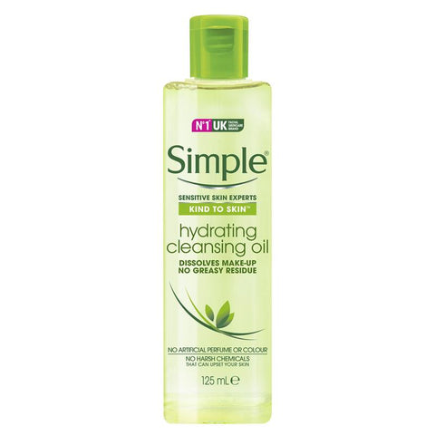 Simple Hydrating Cleansing Oil 125ml