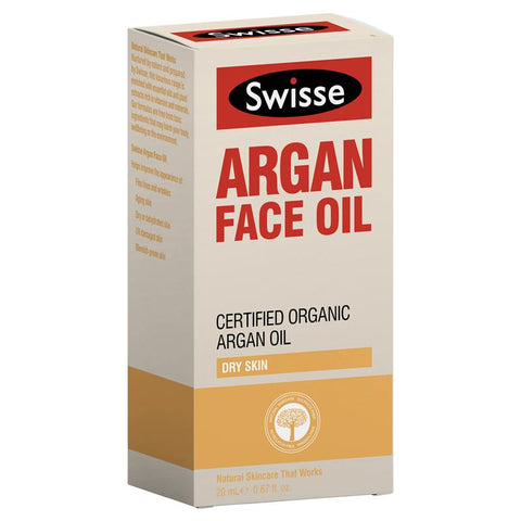 Swisse Argan Face Oil 20ml