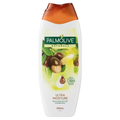 Palmolive Naturals Ultra Moisture Milk & Shea Butter Shower Milk Body Wash 500ml