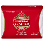 Cussons Imperial Leather Original Soap 4pk