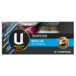 U By Kotex Regular Tampons 16ea