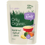 Only Organic Kindy Macaroni Cheese Pasta 1-5 Years 220g