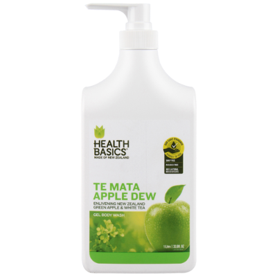 Health Basics Te Mata Apple Dew Body Wash 1l