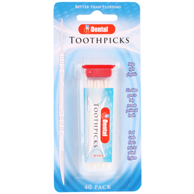 Dental Toothpicks 40pk