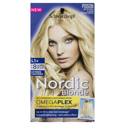 Schwarzkopf Nordic Extreme Lightener L1+ Hair Colou 1ea