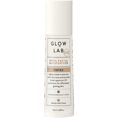 Glow Lab SPF15 Tinted Facial Moisturiser 50ml