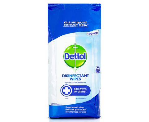 Dettol Disinfectant Wipe 120pk