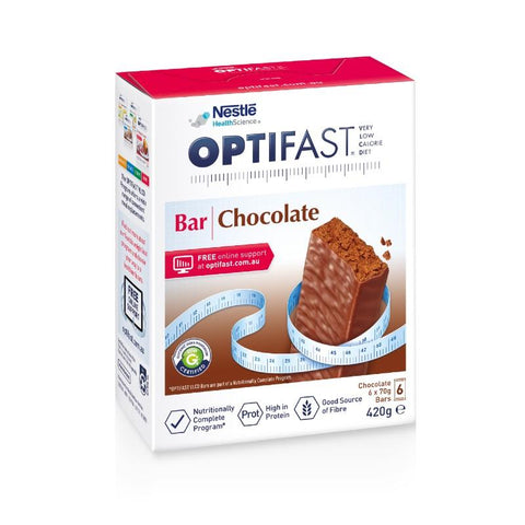 Optifast Chocolate Bars 6x70g