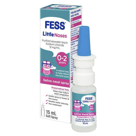 FESS® Little Noses Drops 15ml (0-2 years old)