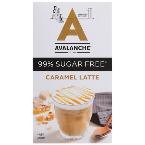 Avalanche 99% Sugar Free Coffee Mix Caramel 160g