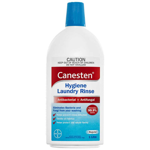 Bayer Canesten Antibacterial + Antifungal Hygiene Laundry Rinse 1 Litre