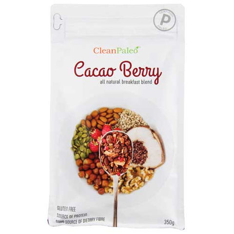 Clean Breakfast Blend Paleo Cereal Cacao Berry 350g