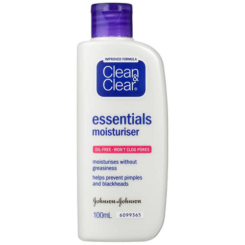 Clean & Clear Acne Treatment Essential Moisturiser 100g