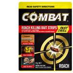 Combat Insect Control Roach Killing Bait Strips 20g