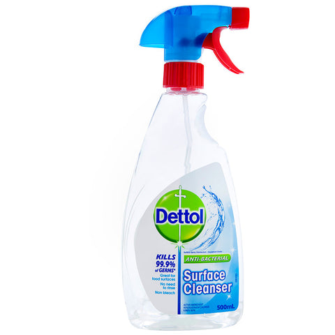 Dettol Multipurpose Spray Cleaner Antibacterial Surface Cleanser trigger 500ml