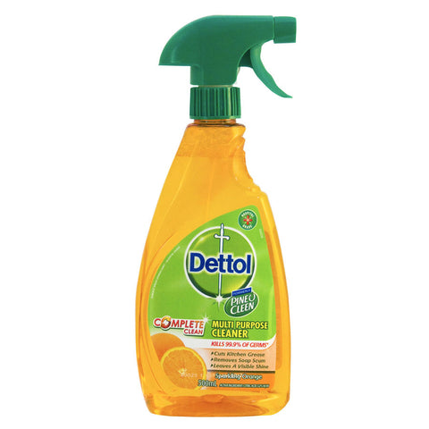 Dettol Spray Cleaner Sparkling Orange Multipurpose trigger 500ml