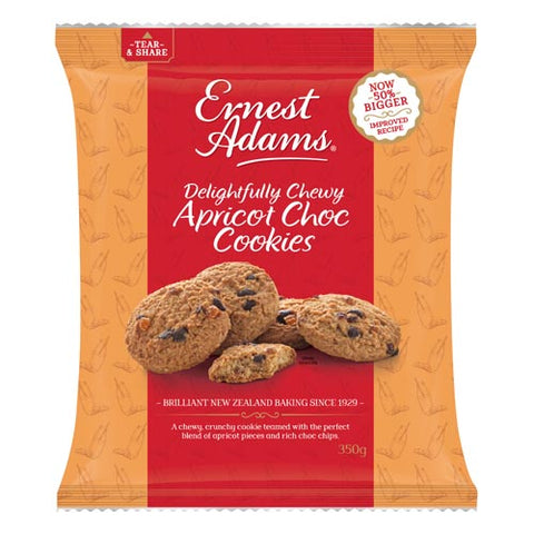 Ernest Adams Cookies Apricot Chocolate Chip 350g