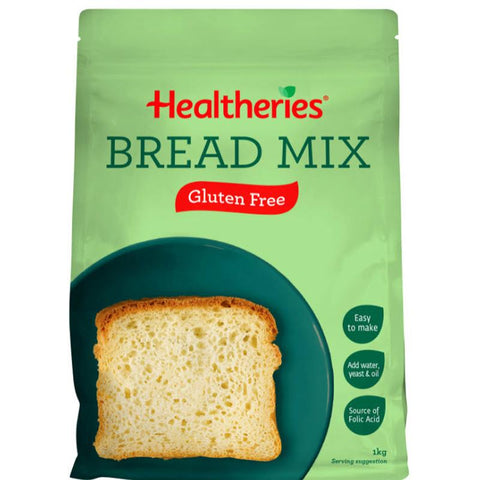 Healtheries Bread Mix Gluten Free 1kg