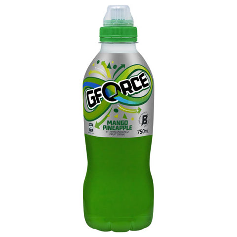 G Force Sports Drink Mango & Pineapple sipper top 750ml