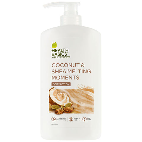 Health Basics Body Lotion Coconut & Shea pump 1l