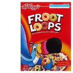Kelloggs Cereal Froot Loops 500g