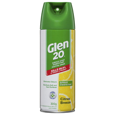 Glen 20 Spray Disinifectant Citrus Breeze 300g