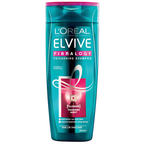Loreal Elvive Fibrology Shampoo For Fine Hair 325ml