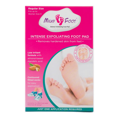 Milky Foot Intense Exfoliating Foot Pad Regular Size