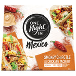 One Night In Mexico Mexican Chipotle Chicken Taco Kit 435g