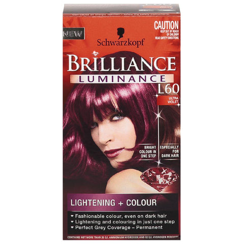 Schwarzkopf Brilliance Luminance Ultra Violet S-M