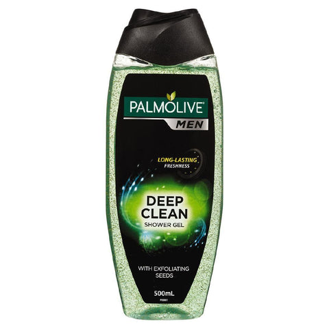 Palmolive For Men Shower Gel Deep Clean 500ml