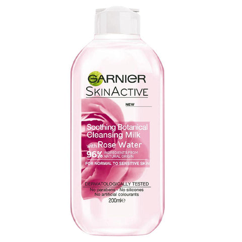 Garnier Naturals Rose Water Cleansing Milk 200ml