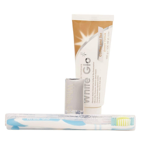 White Glo Whitening Coffee & Tea Toothpaste 150g